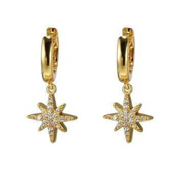 CZ Star Dangle Earring