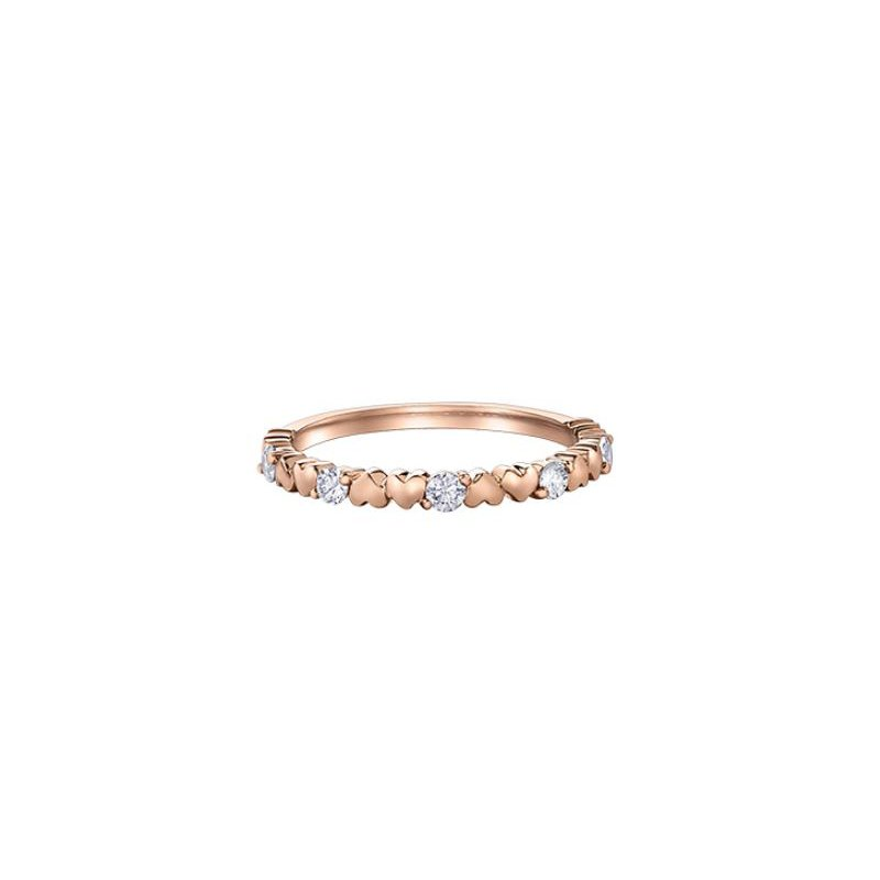 I Am Canadian Stackable Diamond Ring