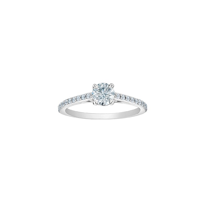 D of D Signature Engagement Ring - LAB GROWN Diamond
