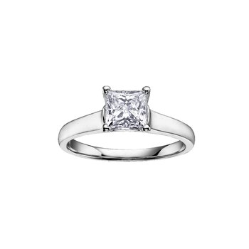 Diamond Solitaire Bridal Ring