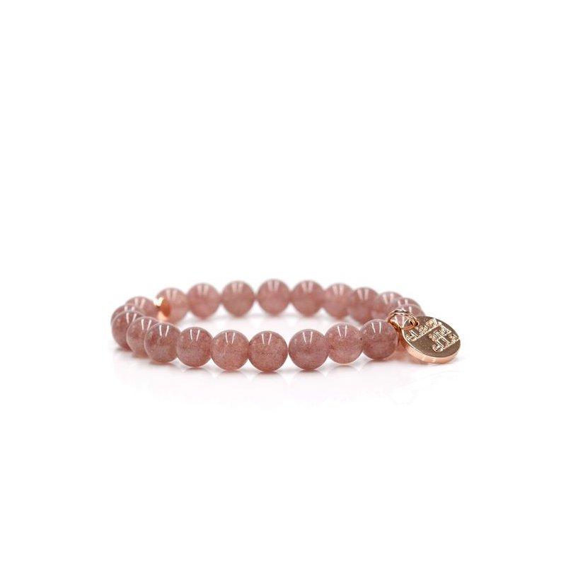 "eLiasz and eLLa ""Berry Pink"" Stone Bangin' Bracelet"