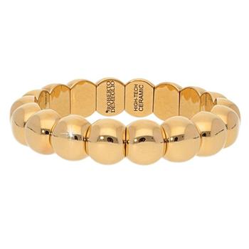 Dama Aura Yellow Gold Ceramic Bracelet