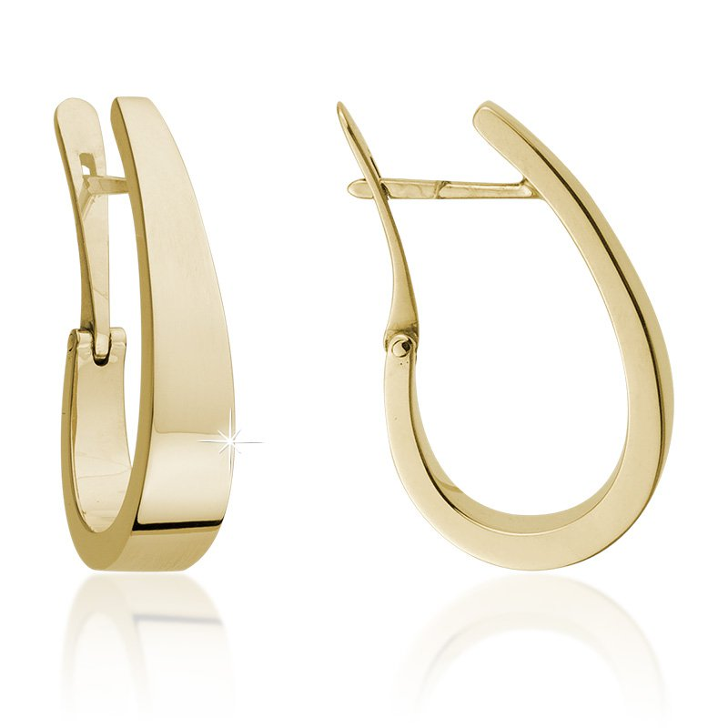 JC Sipe Couture 14K Yellow Gold Fashion Earrings