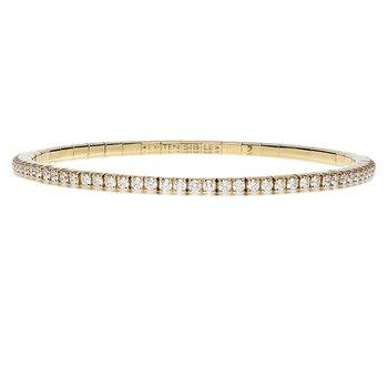 Extensible Diamond Bracelet 3.35ctw
