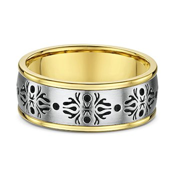 Venetian Lace Two Tone Band