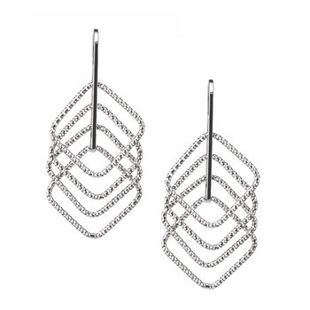 Sterling Silver Square UP Earrings