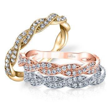 Hemera Diamond Twist Band-R3568B-BD