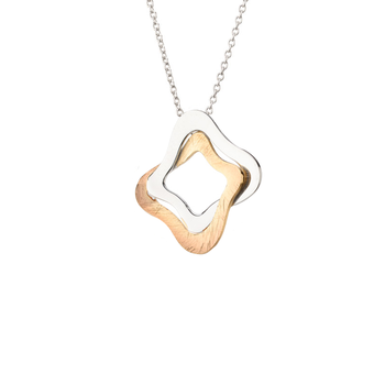 Yellow Gold on Sterling Silver Yvonne Necklace