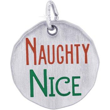 Naughty Nice Tag