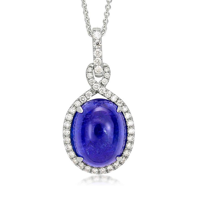 JC Sipe Couture Tanzanite & Diamond Pendant