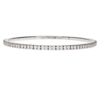 Extensible Diamond Bracelet 4.30ctw