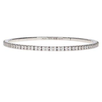 Extensible Diamond Bracelet 5.50ctw