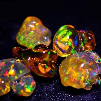 Loose Fire Opal Mix