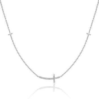 Diamond Fashion Cross Necklace