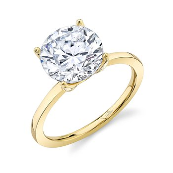 New Classic Bridal Engagement Ring R2996D