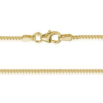 Yellow Gold 1.2mm Franco Chain