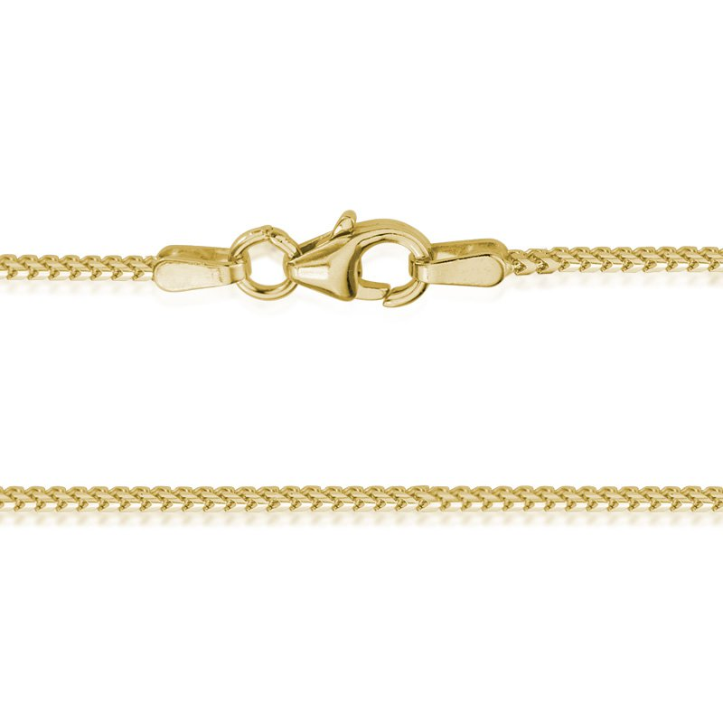 JC Sipe Couture Yellow Gold 1.2mm Franco Chain