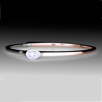 Tahoe Collection Pear Shape Diamond Bracelet