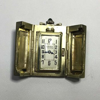 Enamel Pendant Watch