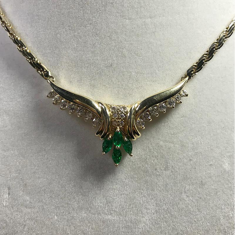 Antique & Estate Emerald Necklace
