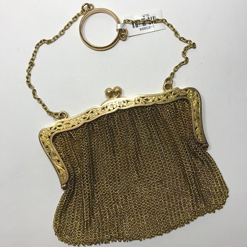 Antique & Estate Deco Gold Handbag