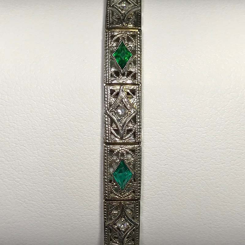 Antique & Estate Diamond Bracelet