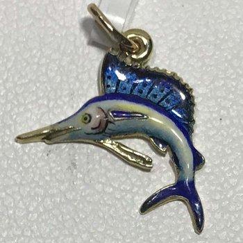 Enamel Fish Charm