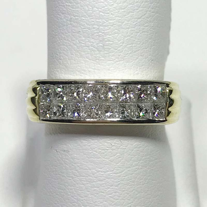 Antique & Estate Gold and Diamond Band Ring