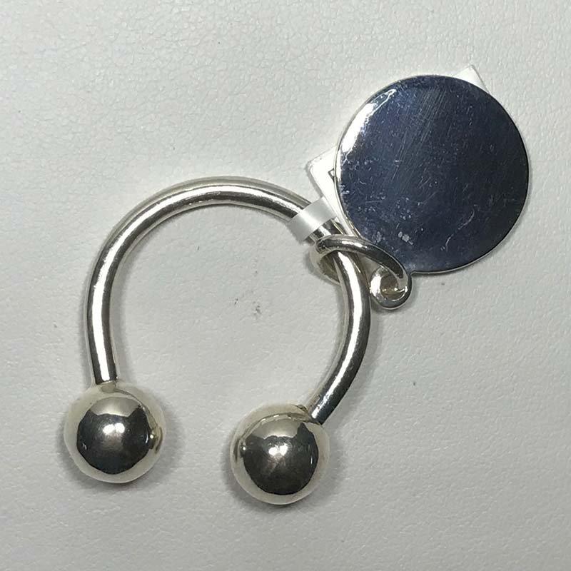 Antique & Estate Sterling Key Ring