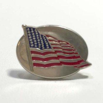 Tiffany & Co. Enameled Flag Pin