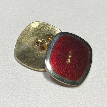 Gold and Platinum Cuff Links
