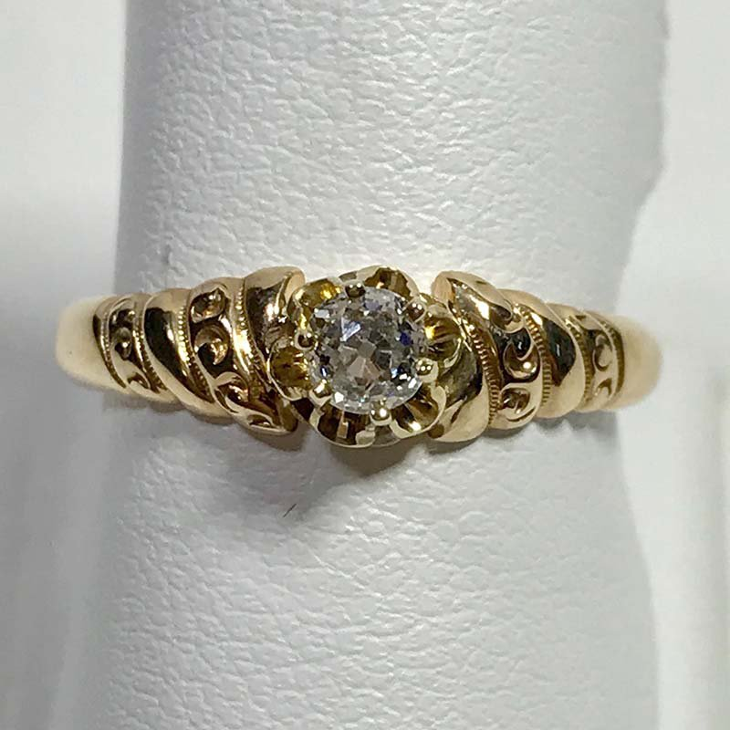 Antique & Estate Diamond Ring