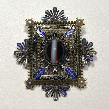 Renaissance Pearl Brooch