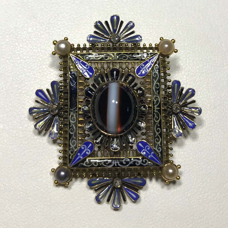 Antique & Estate Renaissance Pearl Brooch