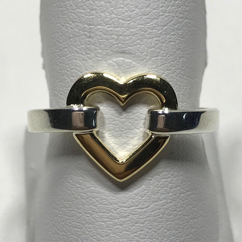 Antique & Estate Tiffany & Co. Heart Ring