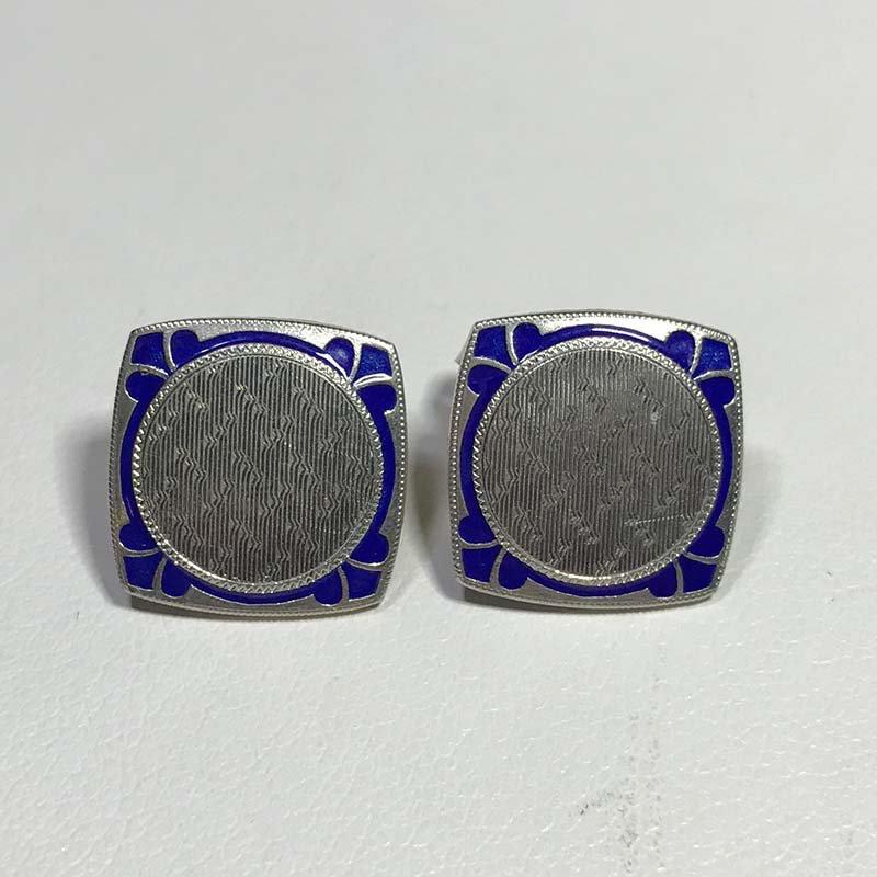 Antique & Estate Art Deco Enamel Earrings