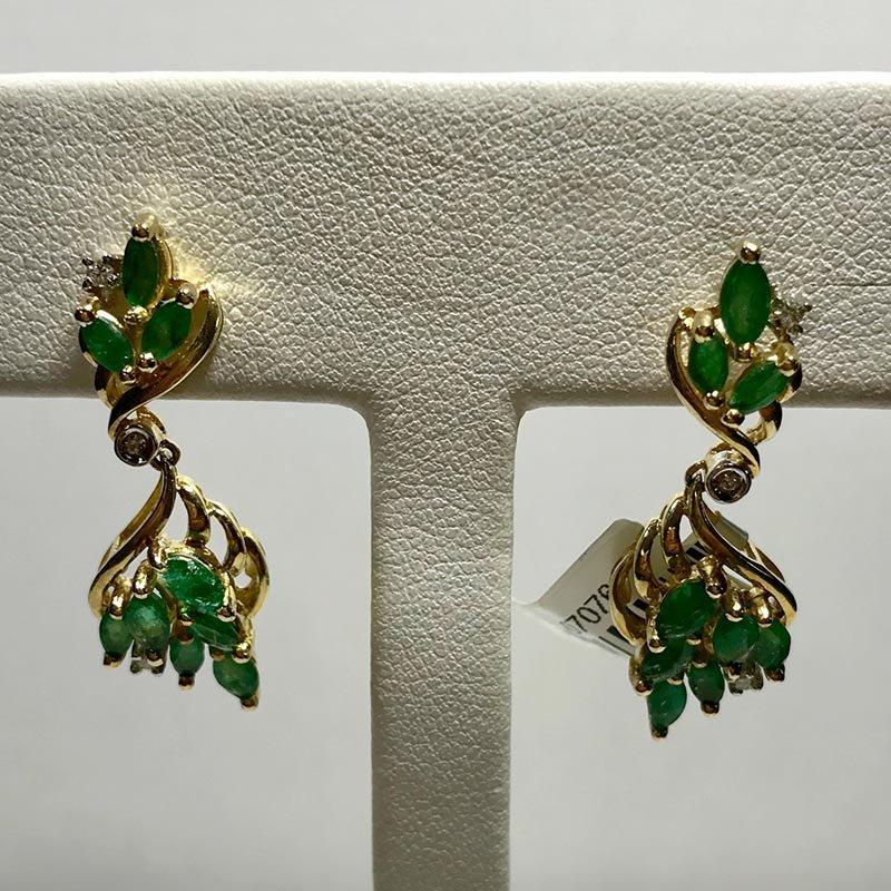 Antique & Estate Emerald Earrings