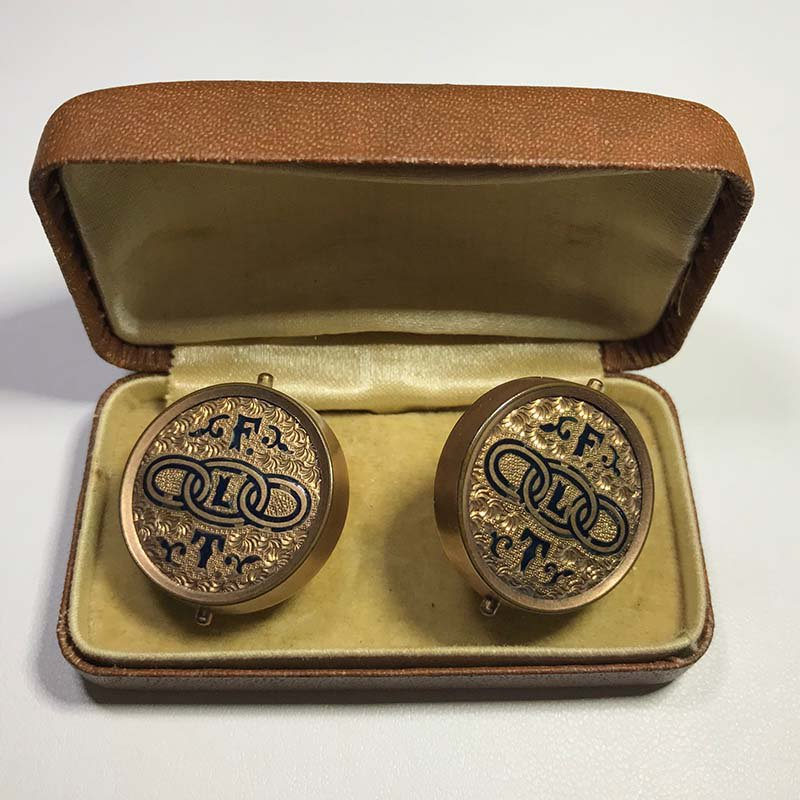Antique & Estate Gold Cuff Links