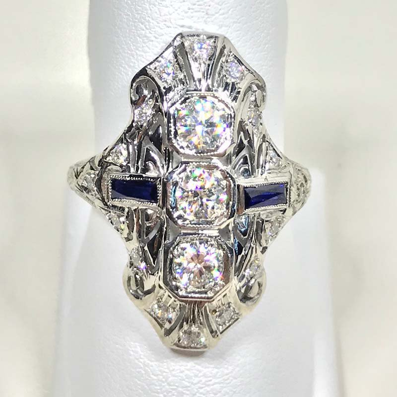 Antique & Estate Diamond Dinner Ring