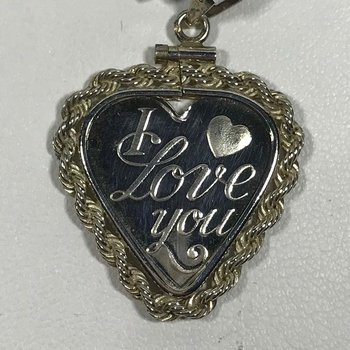 Sterling Heart Charm
