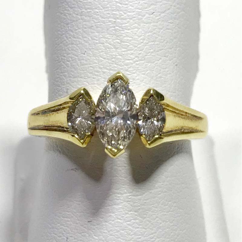 Antique & Estate Marquise Diamond Ring