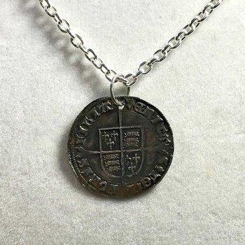 English Groat Necklace