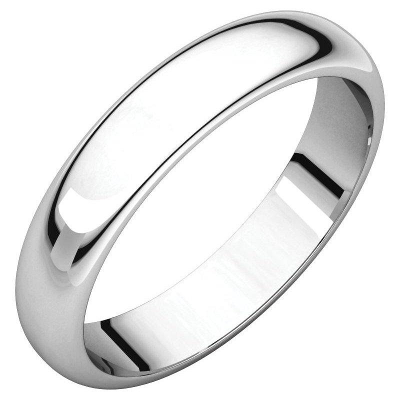 Vivid Jewelers 4MM Half Round Band