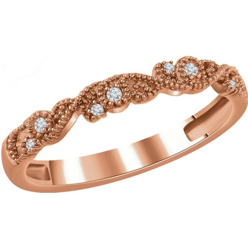 Vivid Jewelers 1/10CTW Diamond Band