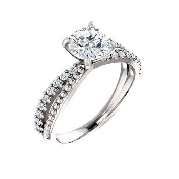 1/5CTW Diamond Engagement Ring