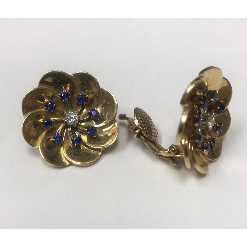 Antique, Estate & Consignment Tiffany & Co. Clip On Earrings