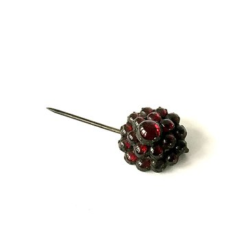 Garnet Stick Pin