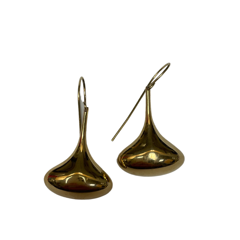 Antique, Estate & Consignment Gold Tear Drop Earrings