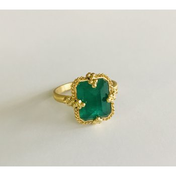 One of a Kind Emerald Ring