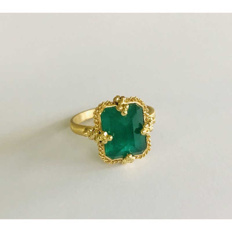 Amali One of a Kind Emerald Ring